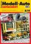 Modell-Auto Zeitschrift Heft Nr. 8/2014