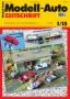 Modell-Auto Zeitschrift Heft Nr. 1/2015