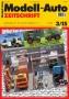 Modell-Auto Zeitschrift Heft Nr. 3/2015