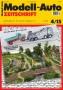 Modell-Auto Zeitschrift Heft Nr. 4/2015