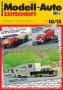 Modell-Auto Zeitschrift Heft Nr. 10/2015