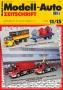 Modell-Auto Zeitschrift Heft Nr. 11/2015