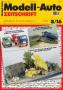Modell-Auto Zeitschrift Heft Nr. 8/2016