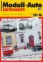 Modell-Auto Zeitschrift Heft Nr. 12/2016