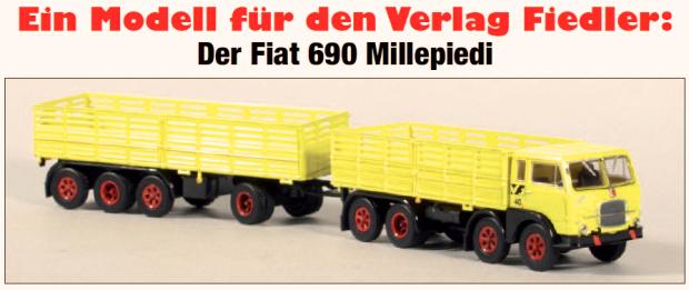 FIAT 690 Millepiedi Sonermodell VF